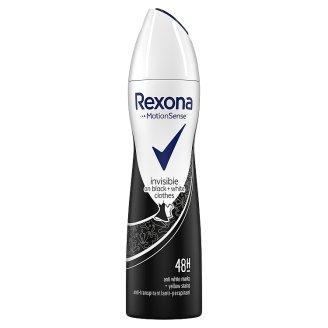Rexona Invisible Black+White Antyperspirant w aerozolu 150 ml