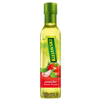 Kujawski Extra Virgin Rapeseed Oil with Tomatoes Garlic and Basil 250 ml