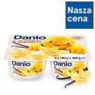 Danone Danio Serek homogenizowany o smaku waniliowym 560 g (4 x 140 g)