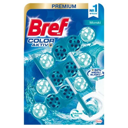 Bref Color Aktiv Sea Toilet Rim Block 3 x 50 g - Tesco Groceries