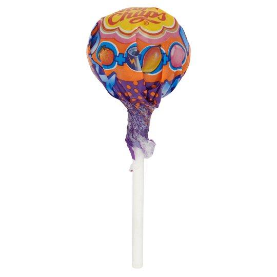 Chupa Chups XXL 4D Lollipop with Bubble Gum Centre Tutti-Frutti Mandarin Mango Flavour 29 g