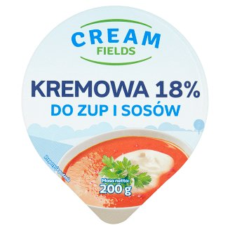 Cream Fields 18% Creamy for Soups and Sauces Fat Emulsion 200 g