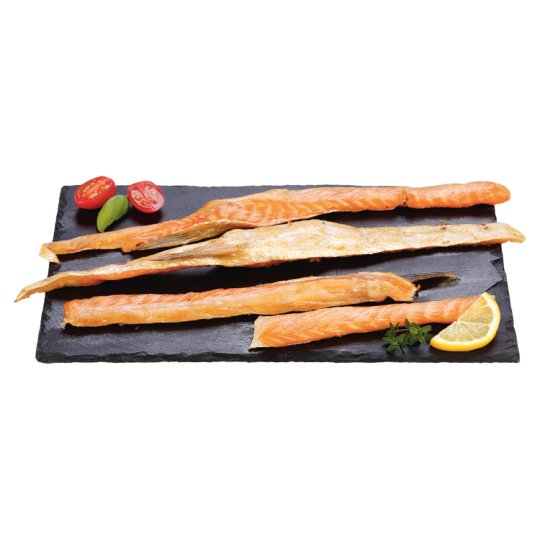 Tesco Brzuszki z łososia wędzone premium