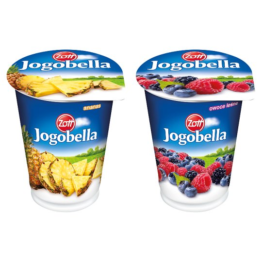 Zott Jogobella owoce leśne Jogurt 400 g