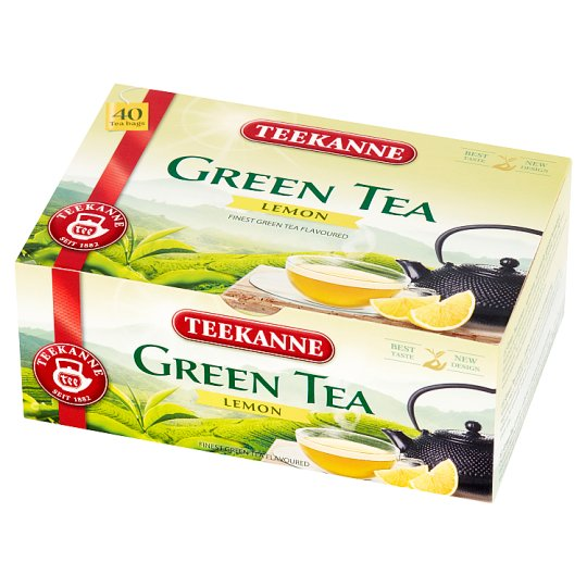 Teekanne Lemon Green Tea 66 g (40 x 1.65 g)