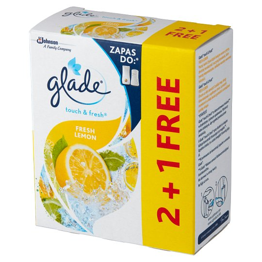 Glade by Brise One Touch Citrus Mini Spray Air Freshener Refill 3 x 10 ml