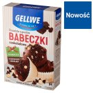 Gellwe Babeczki mocno czekoladowe z kawałkami białej i ciemnej czekolady 300 g