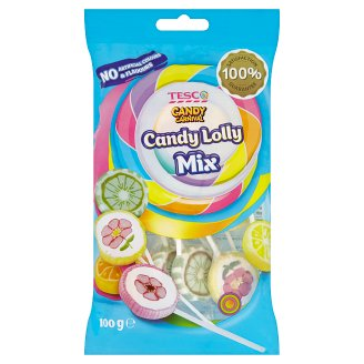 Tesco Candy Carnival Mix Lizaki twarde 100 g