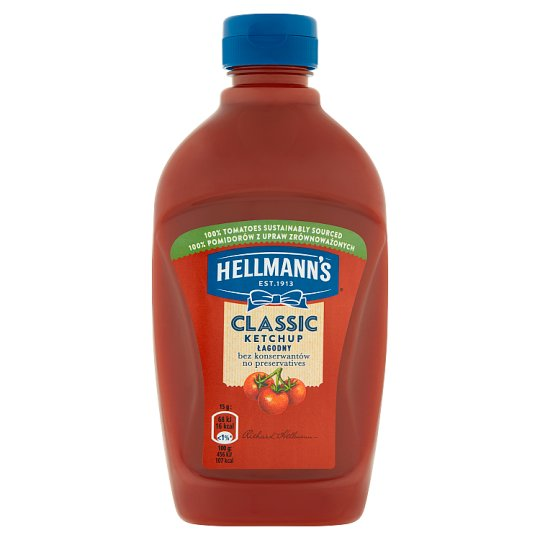Hellmann's Mild Ketchup 485 g