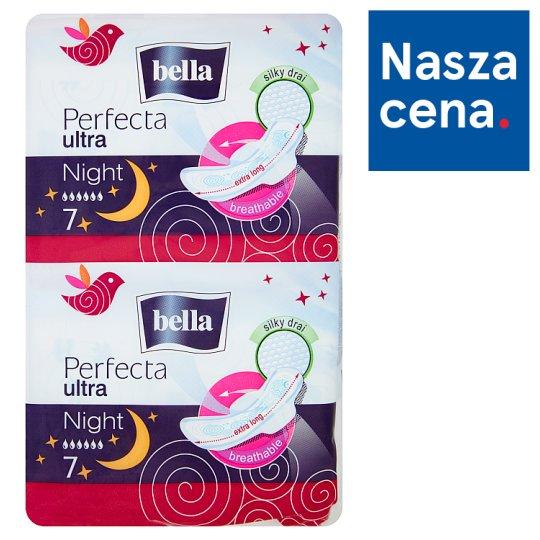 Bella Perfecta Ultra Night Silky Drai Podpaski higieniczne 14 sztuk