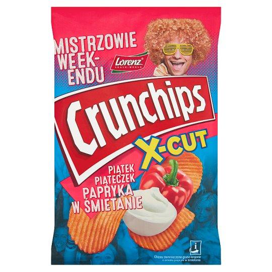 Crunchips Uro Edycja Hot Salami Flavour Potato Chips 140 g