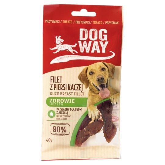Dogway Zdrowie Przysmak dla psa filet z piersi kaczej 40 g
