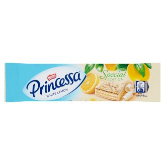 Princessa Wafer Bar with Lemon Cream in White Chocolate 33 g