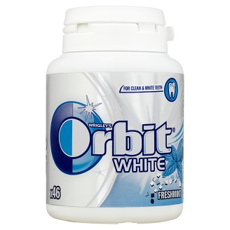 Orbit White Fresh Mint Guma do żucia bez cukru 64 g (46 drażetek)