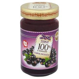 Tesco 100% z owoców Produkt owocowy z czarnych porzeczek 230 g