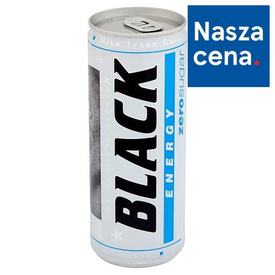 Black Zero Sugar Energy Drink 250 ml