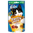 Felix Party Mix Original Mix Chicken Liver and Turkey Flavoured Cat Treats 60 g