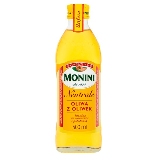 Monini Neutrale Olive Oil 500 ml