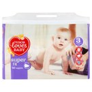 Tesco Loves Baby Super Fit Pieluszki jednorazowe 3 midi 4-9 kg 50 sztuk