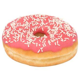 Donut z polewą truskawkową 58 g