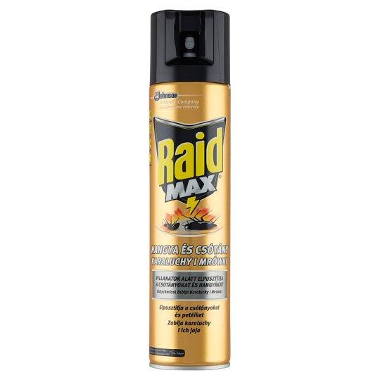 Raid Max 3in1 Środek przeciw karaluchom i mrówkom 400 ml