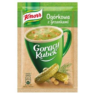 Knorr Gorący Kubek Ogórkowa z grzankami 13 g