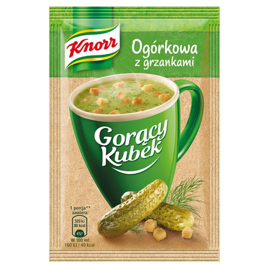 Knorr Gorący Kubek Cucumber Soup with Croutons 13 g