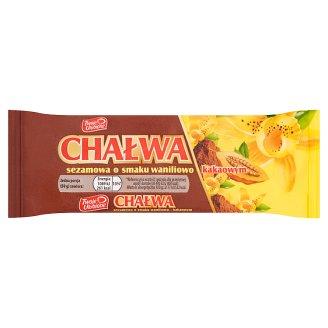 Twoje Ulubione Chałwa sezamowa o smaku waniliowo kakaowym 50 g