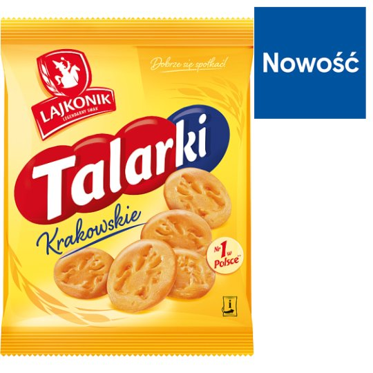 Lajkonik Krakowskie Talarki Salted Small Baked Products 170.5 g