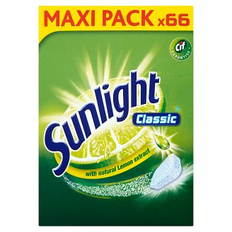 Sunlight Classic Dishwasher Tablets 627 g (66 Pieces)