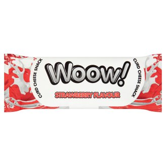 Woow! Strawberry Flavour Curd Cheese Snack 35 g
