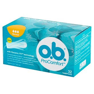 O.B. ProComfort Normal Tampons 32 Pieces