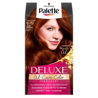 Palette Deluxe Oil-Care Color Farba do włosów Miedziany mahoń 667
