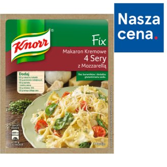 Knorr Fix 4 Cheese with Mozzarella Pasta 45 g