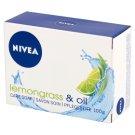NIVEA Lemongrass & Oil Pielęgnujące mydło w kostce 100 g