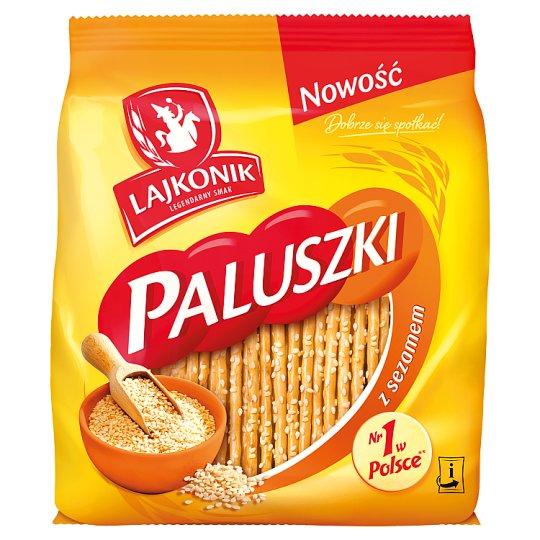 Lajkonik Pretzel Sticks with Sesame Seeds 150 g