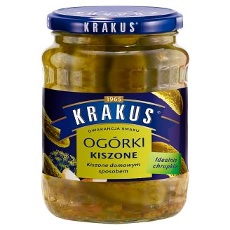 Krakus Ogórki kiszone 630 g