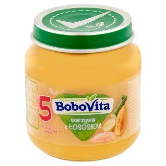 BoboVita Vegetables with Salmon after 5 Months Onwards 125 g