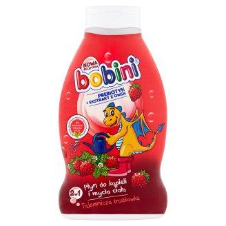 Bobini Splashy Strawberry Bathing Liquid and Body Washing 2w1 660 ml