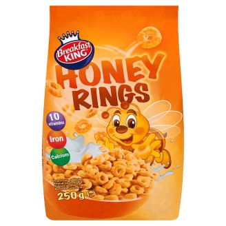 Breakfast King Honey Rings 250 g