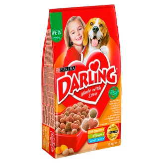 Darling Dog Food with Poultry 10 kg