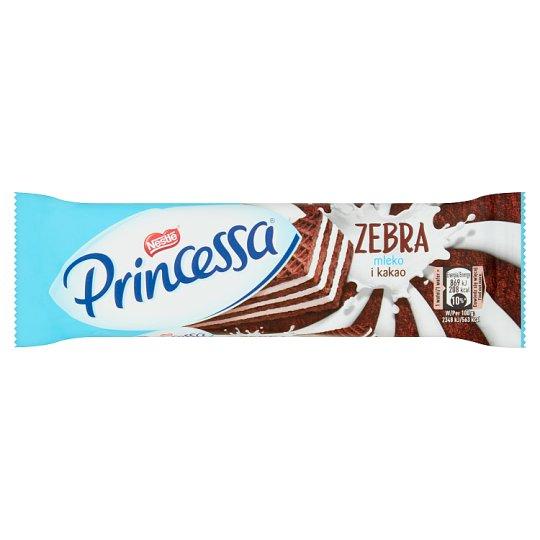 Princessa Zebra Cocoa Wafer Layered with Milk Cream 37 g
