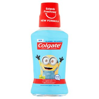 Colgate Mild Minty Taste Mouthwash 6-12 Year Old 250 ml