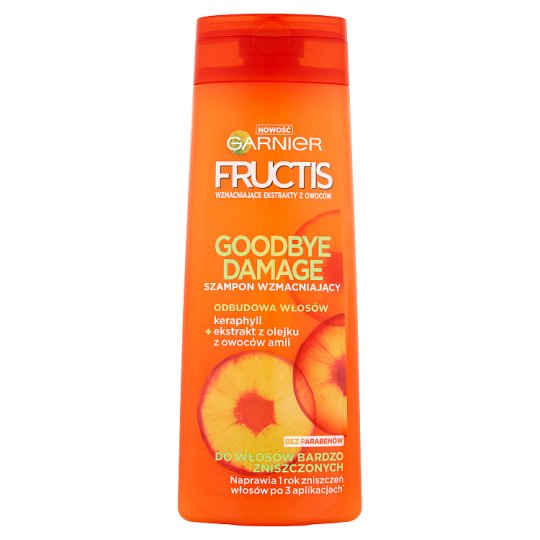 Garnier Fructis Goodbye Damage Strengthening Shampoo for Very Damaged Hair 400 ml