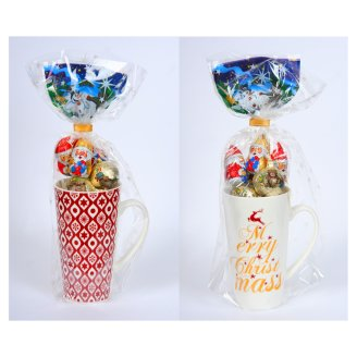 Rakpol Cup + Chocolates Christmas Set 85 g