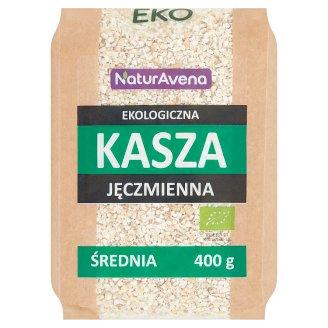NaturAvena Organic Medium Barley Groats 400 g