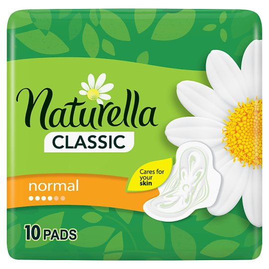Naturella Sanitary Towels Classic Normal Camomile 10 Pads