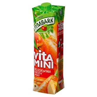 Tymbark Vitamini Peach Carrot Apple Juice 1 L