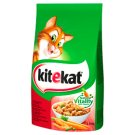 Kitekat Complete Food for Adult Cats with Beef and Vegetables 1.8 kg