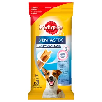 Pedigree DentaStix Mini Supplementary Food for Adult Dogs 45 g (3 Pieces)